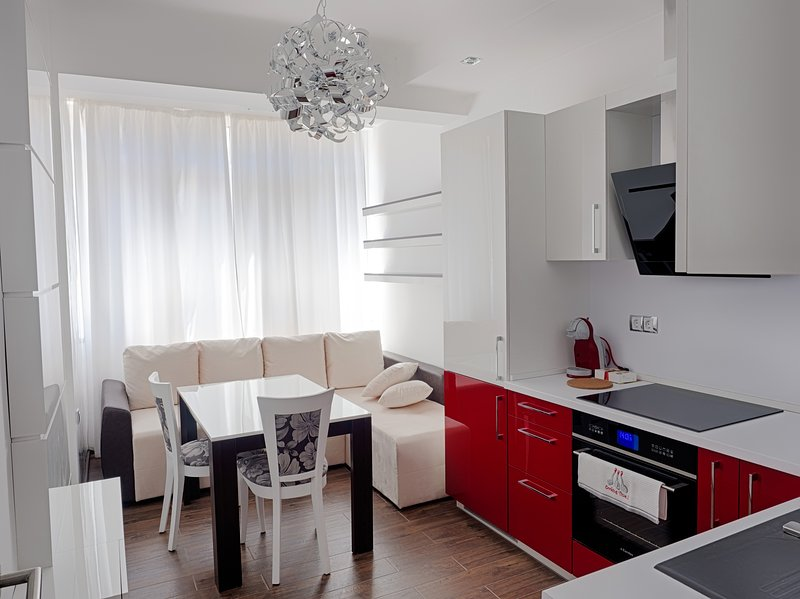Designer Apartment for Guests, location de vacances à Vrabtsite