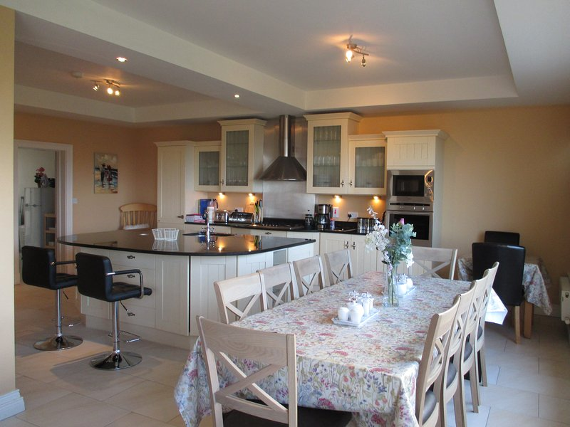 Castleview House is a dream accommodation for a large group ...