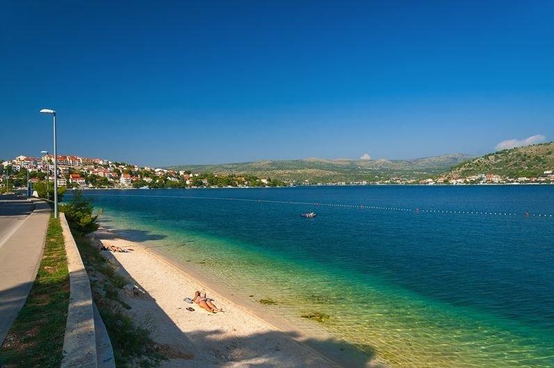 Luxus-Villa mit Meerblick mit Pool zu mieten, Rogoznica