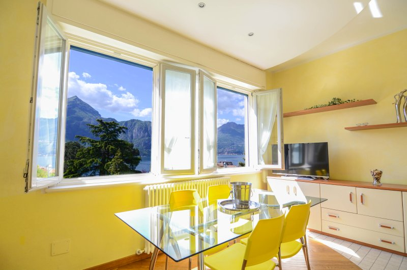Apartment Il Parco with lake view!, holiday rental in Bellagio