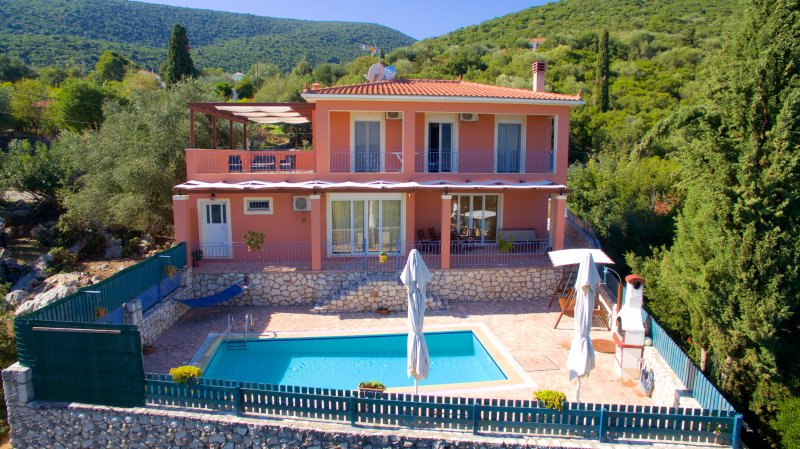 ASTONISHING SEA VIEW VILLA MARILENA