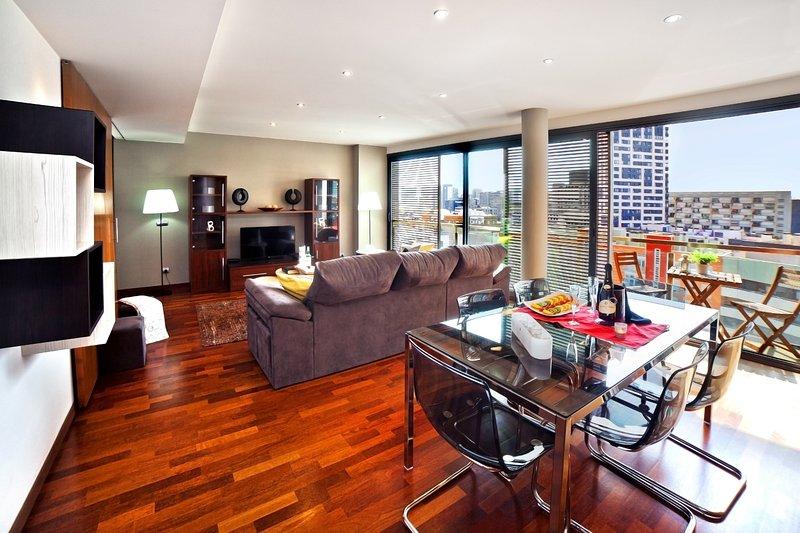 Victoria Diagonal Mar 2 - Luxury Atic, vacation rental in Barcelona