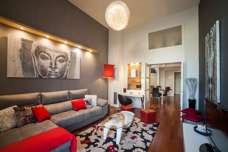 Luxury duplex apartment in the heart of Barcelona 1, vacation rental in Barcelona