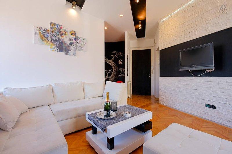 LUX 5★ Pedestrian Area • Heart of City • Black & White - Skadarlija #1 Suite, vacation rental in Obrenovac