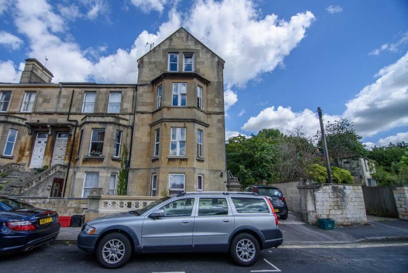 10 Lime Grove, a large, late Victorian semi, close to the very center of Bath