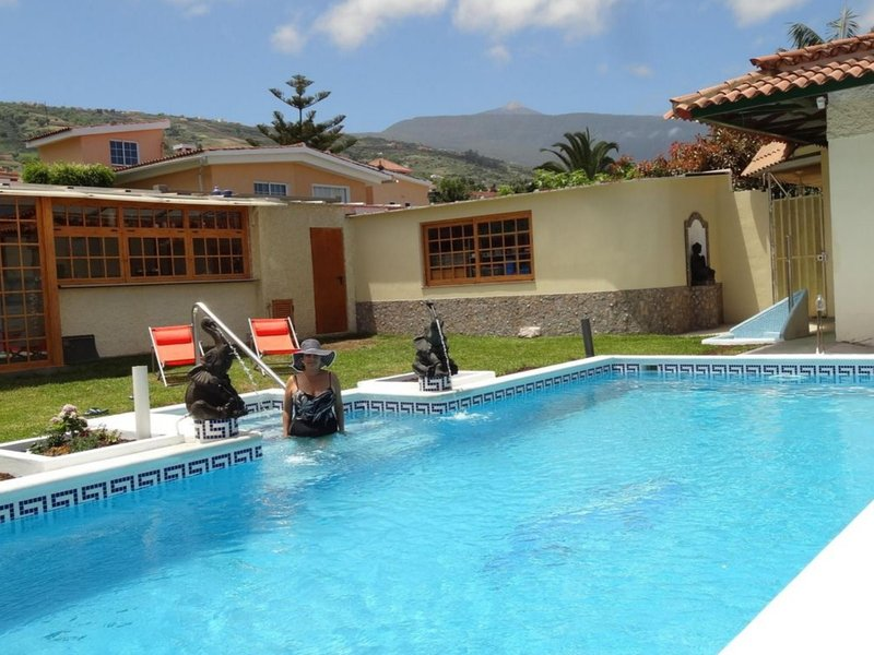 House - 2 Bedrooms with Pool and WiFi - 104920, vacation rental in La Orotava