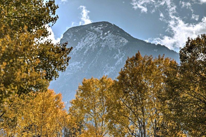 Il ne va pas beaucoup mieux que de se réveiller à une vue spectaculaire sur la montagne Hat!