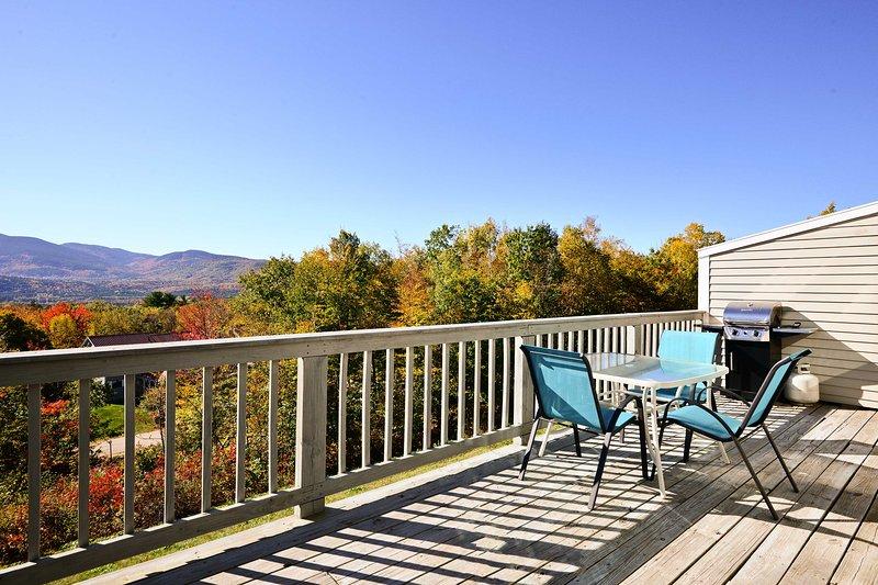 Bartlett Condo w/Mtn Views by Cramore+Attitash Ski, holiday rental in Intervale