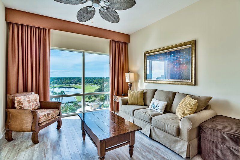 Luau is a luxury building in Sandestin. Our family condo is updated and upgraded!