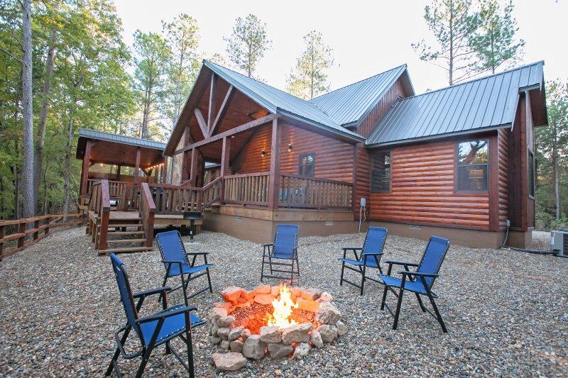 River Song Cabin 1 Bedrooms Creek Overlook Private Hot