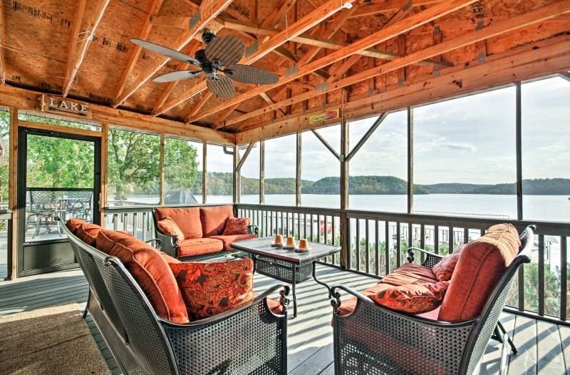 Escape to the Lake of the Ozarks and book this 3BR, 3-bath vacation rental home.