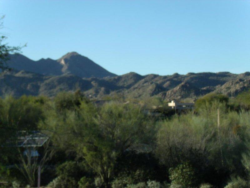 Views of the Tortolita mountains.