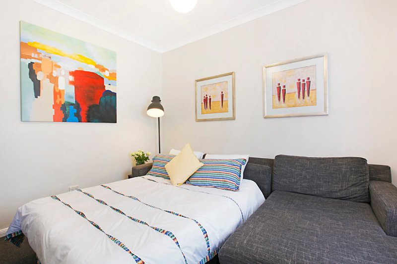 Lounge/TV room: Deluxe Queen size sofa bed.  Can sleep 2 additional adults/children if required.