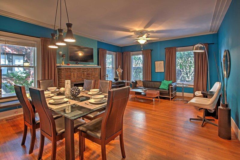 Una escapada emocionante en la cuarta ciudad más grande de Estados Unidos le espera en este encantador de 2 dormitorios, 1 cuarto de baño Alquiler de vacaciones apartamento Houston!