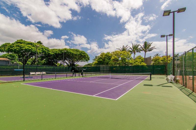 Campi da tennis a Papakea Resort