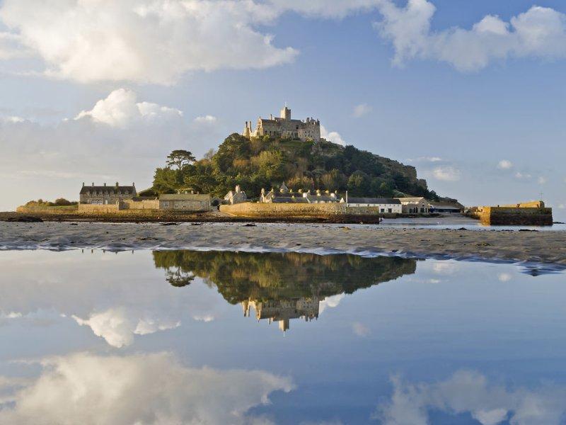 St Michael's Mount, Mounts Bay, South Cornwall