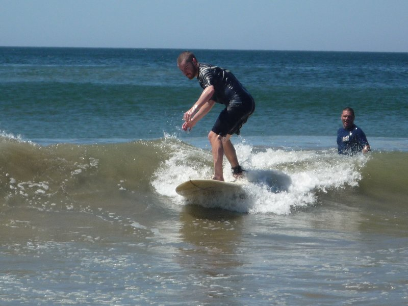 Stef Surf Guest Success First Try Surf Lessons