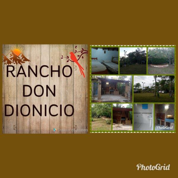 Rancho Don Dionicio, alquiler de vacaciones en Paraguay