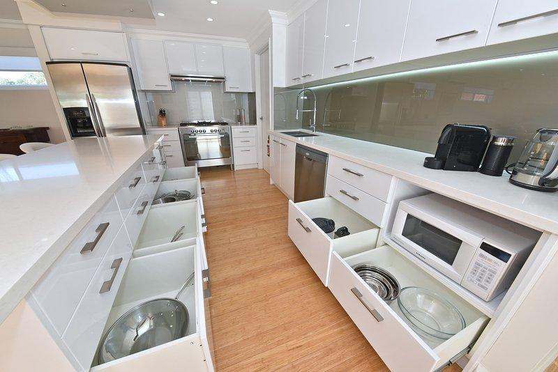 Fullt utrustat kök