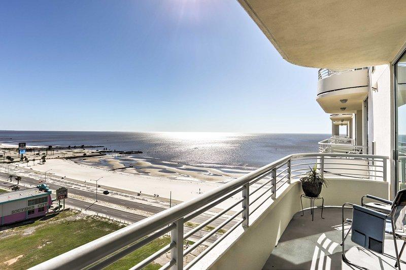 Votre aventure côtière attend dans cette belle 2 chambres, 2 salles de bains Biloxi Location condo!