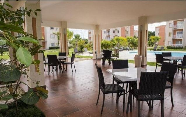4 large Gazebos with tables, chairs and a BBQ area overlooking the pools
