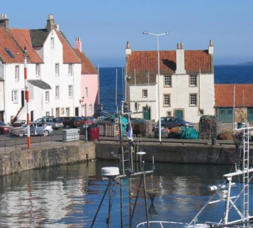 View of the Gyles, Pittenweem from the house