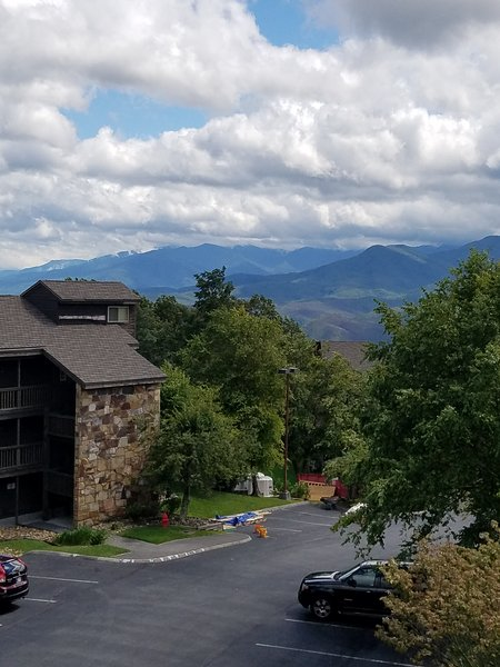The views of the Smokies are spectacular up here!