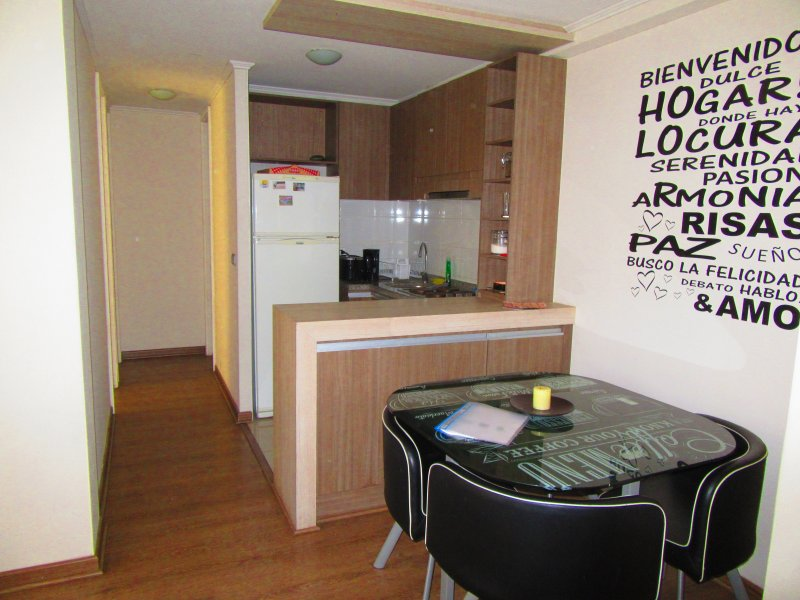Departamento 2 dormitorios 6 personas, alquiler de vacaciones en Pirque