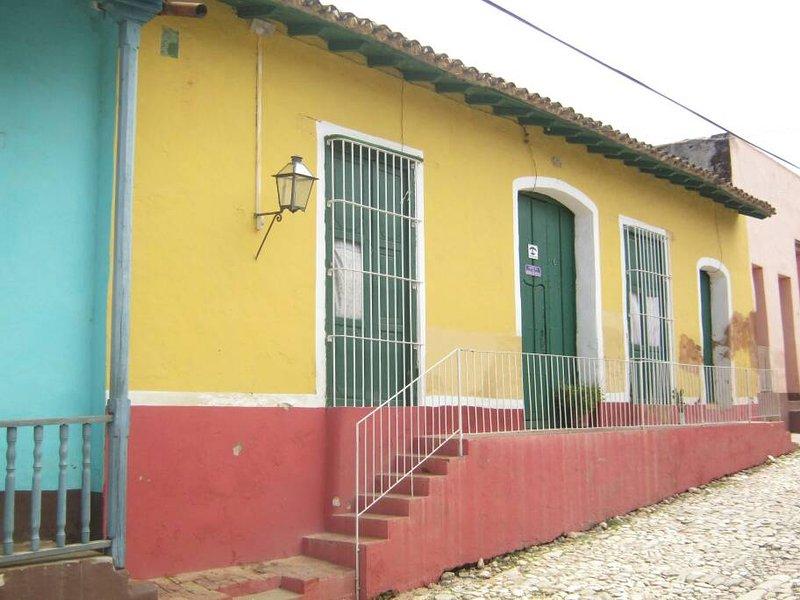 Hostal Maria de Rosas, Trinidad, Cuba. Room for Rent. Colonial Place.Traditional, holiday rental in Cuba