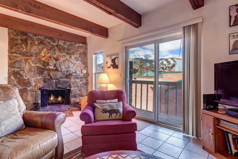SkyRun Property - 'Alpine 203' - Views of Breckenridge Ski Resort right from your living room!
