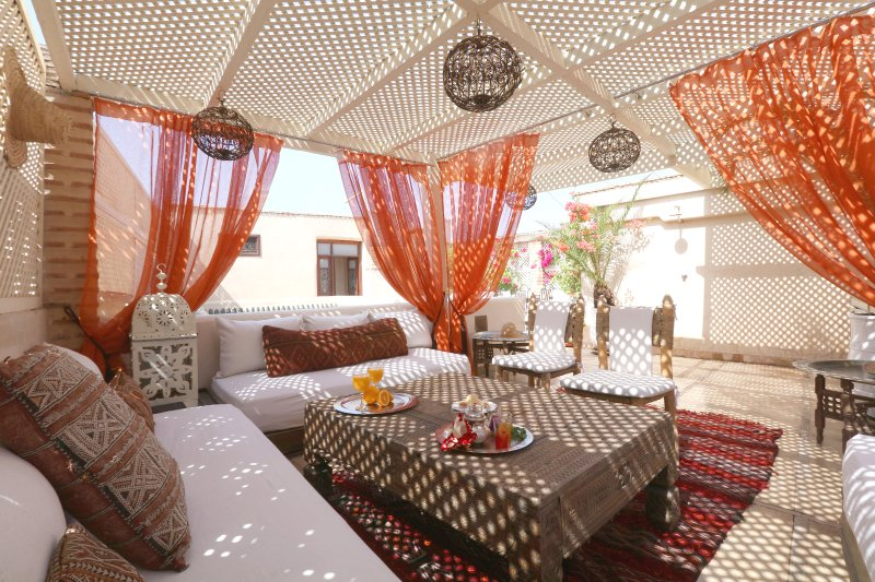 Riad Jaune Safran is rented for exclusive use: This riad could be your home in Marrakech: book now!