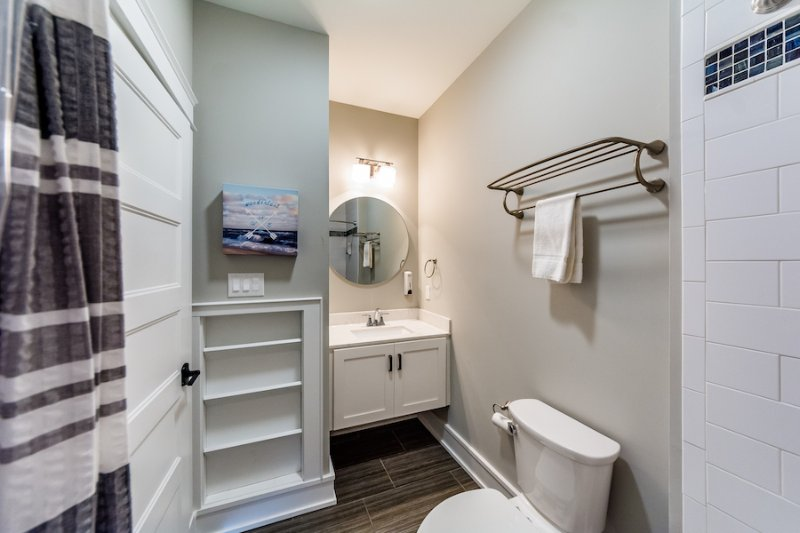 Connecting Bathroom to the Den