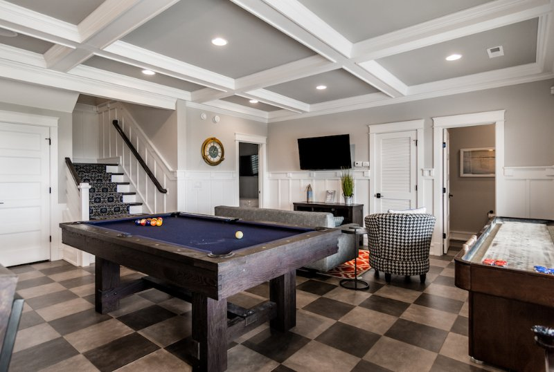Recreation Room Located on the Ground Level