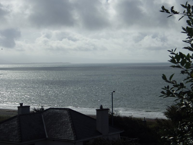 Looking south down Cardigan Bay towards mid-Wales and beyond...