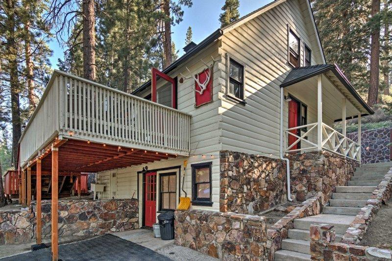 Questa casa offre attività come bocce, ferri di cavallo e una sala gioco al coperto!