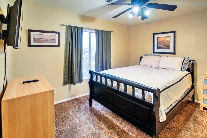 Avec 5 chambres bien aménagées, tout le monde est sûr de jouir de ses arrangements de sommeil.