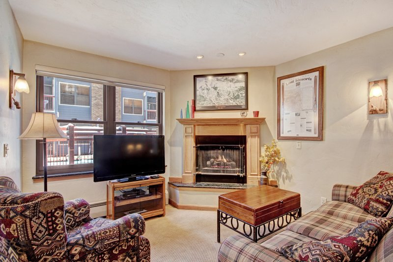 Warm + Inviting 1Br Winter Escape-Perfectly located Downtown, vacation rental in Breckenridge