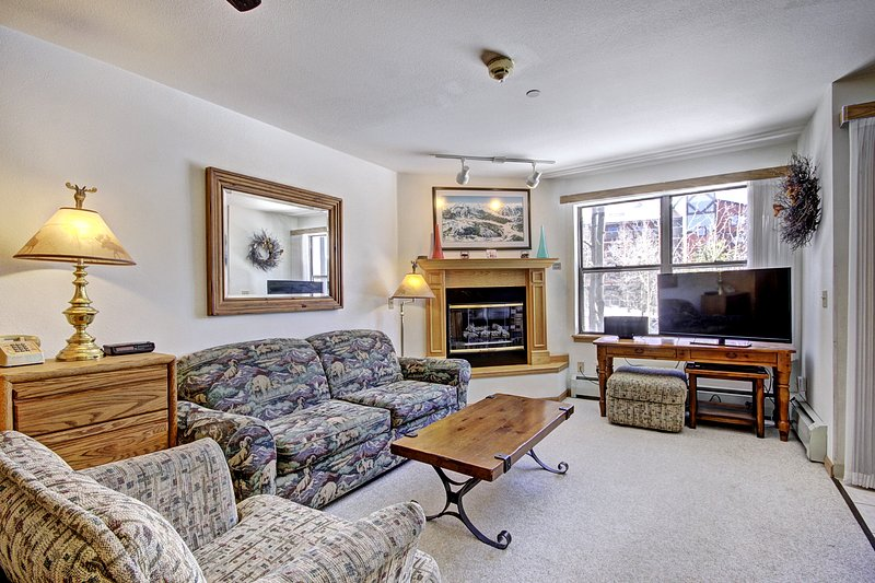 Relaxed Studio Seconds to Historic Main Street - Sleeps 4, vacation rental in Breckenridge