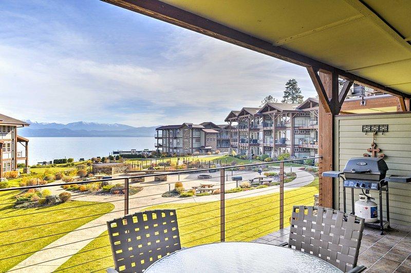 Préparez-vous pour une escapade inoubliable Lakeside à cet hôtel idéalement situé condo location de vacances.
