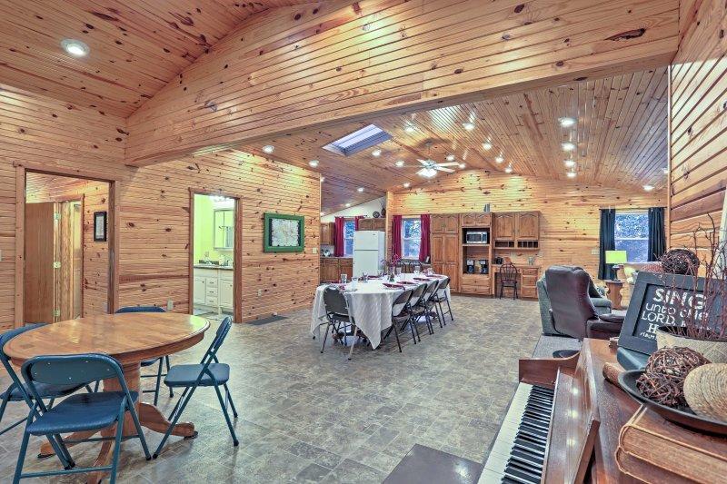 Met 2.000 vierkante meter, dit appartement is een ideale plek voor familiefeesten!