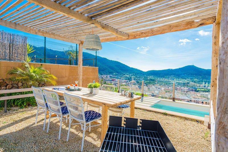 BON VIURE - Villa for 3 people in Andratx, holiday rental in Sant Elm