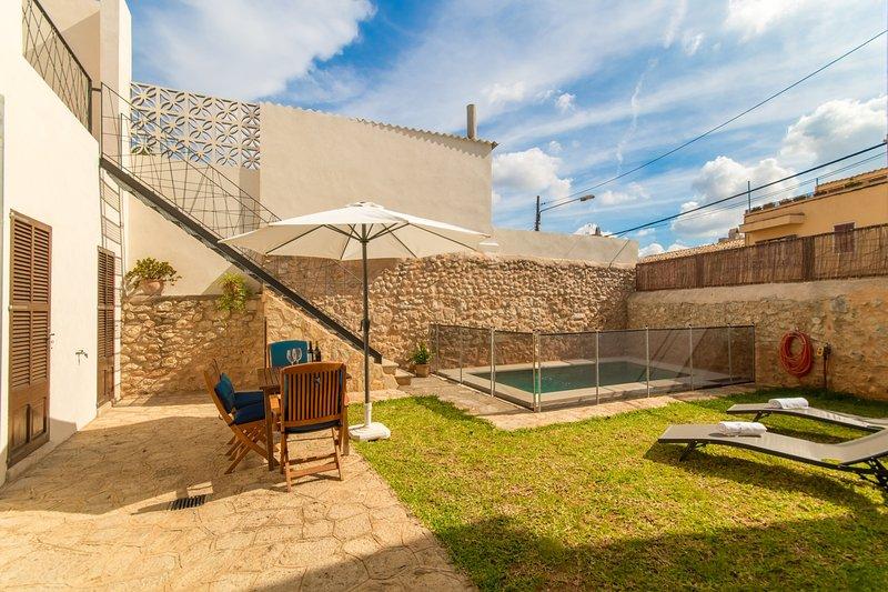 Casa Can Piu, House 5StarsHome Mallorca, vacation rental in Binissalem