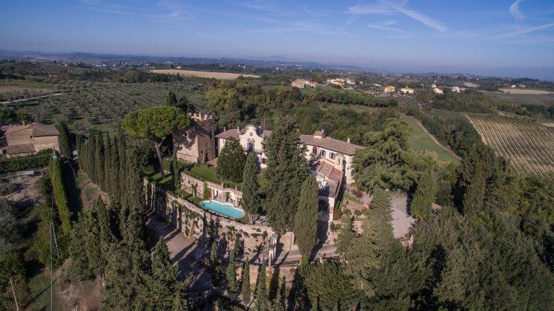 Castello di Cabbiavoli, Ferienwohnung in Castelfiorentino