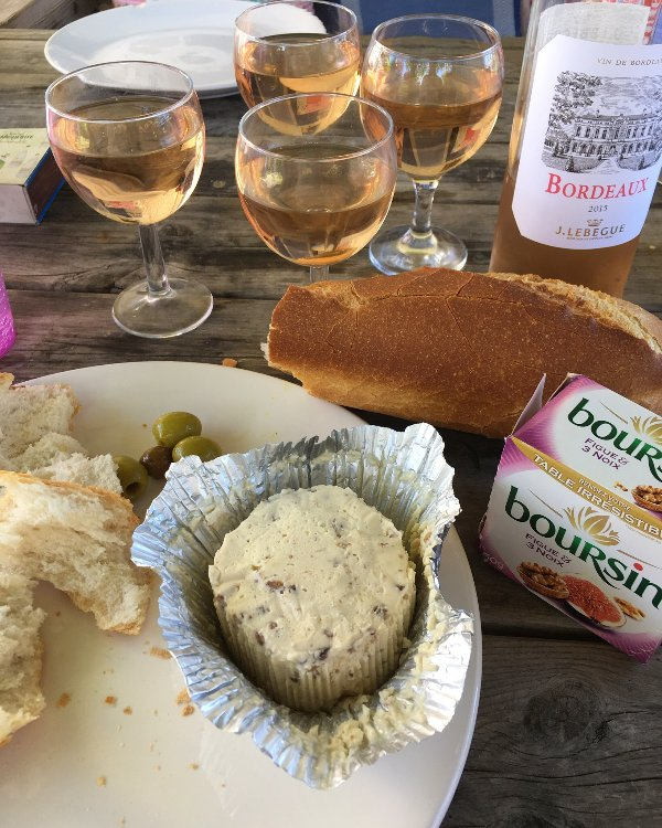 Enjoy the local food and wine