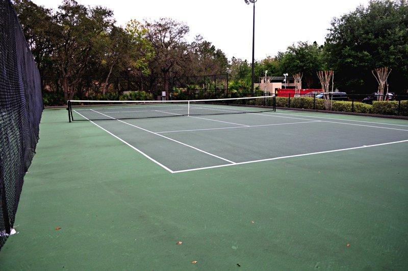 Resort Tennisplatz