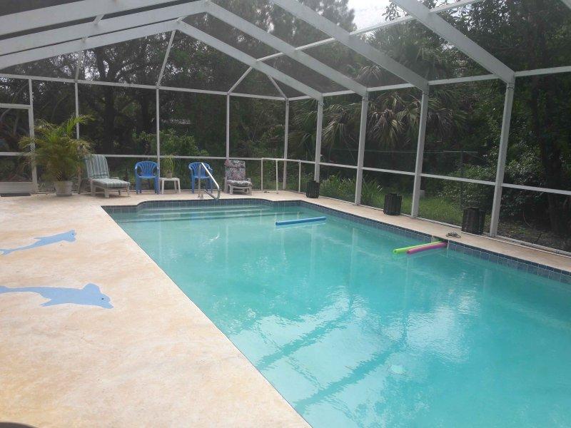 U zult genieten van zwemmen in onze prive verwarmd zwembad deze winter