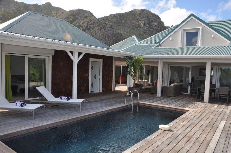 Villa Wild Blue St Barts, holiday rental in Salines