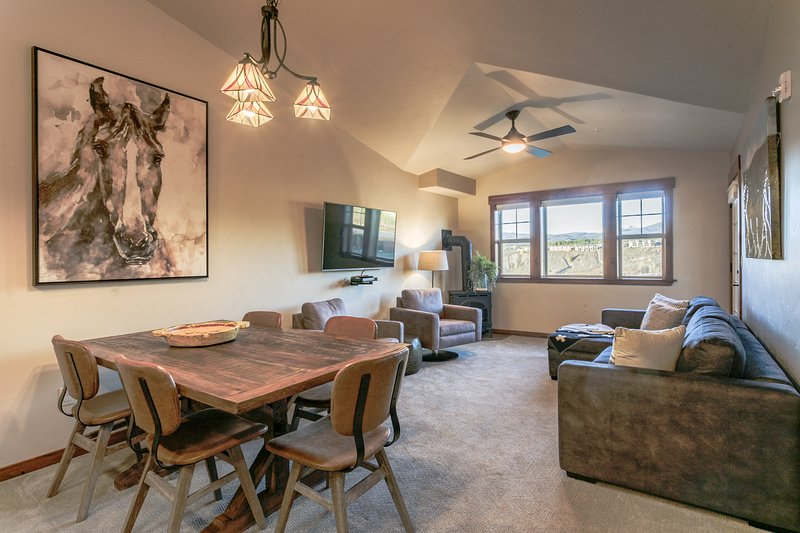 Professionally designed with new furnishings throughout