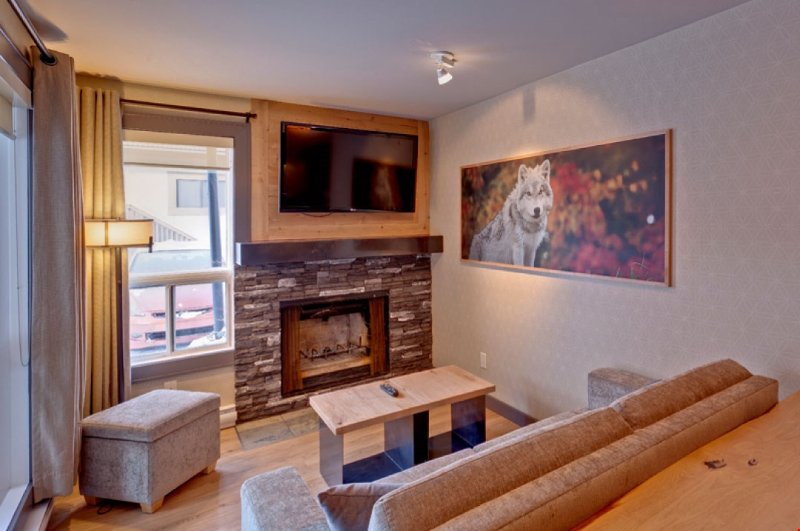 Come and stay in our wolf themed condo.