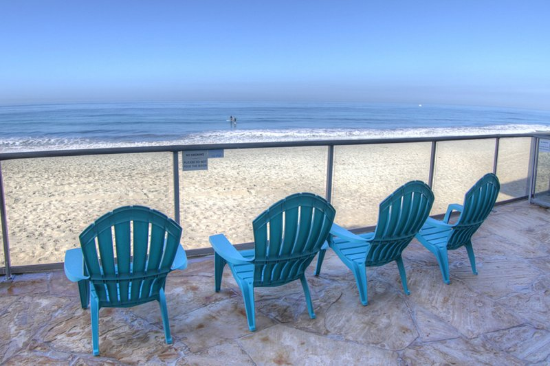 Patio on the Sand